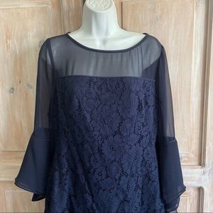 Ralph Lauren Dresses - Ralph Lauren Navy Lace Dress NEW Women's 10